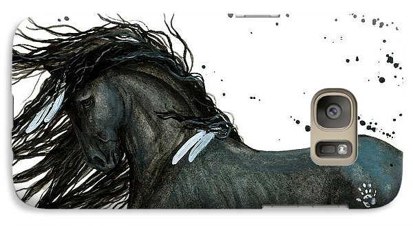 Majestic Friesian Horse 112 Galaxy S7 Case