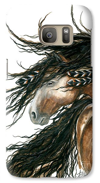 Majestic Pinto Horse 80 Galaxy S7 Case by AmyLyn Bihrle