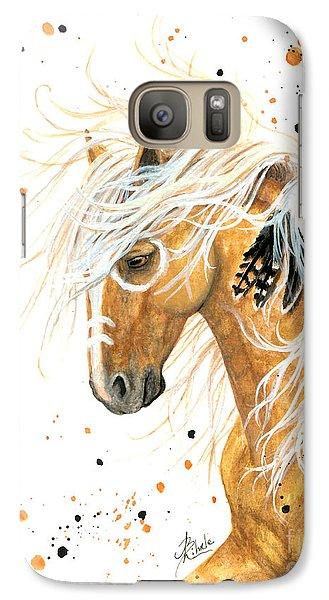Majestic Palomino Horse 84 Galaxy S7 Case