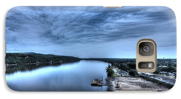Galaxy Case featuring the photograph Majestic Hudson River by Rafael Quirindongo