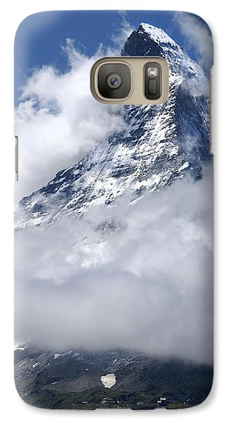 Galaxy Case featuring the photograph Majestic Mountain  by Annie Snel