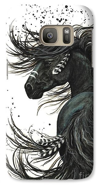 Majestic Spirit Horse 65 Galaxy S7 Case by AmyLyn Bihrle