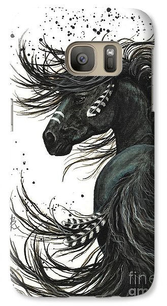 Horse Galaxy S7 Case - Majestic Spirit Horse  by AmyLyn Bihrle