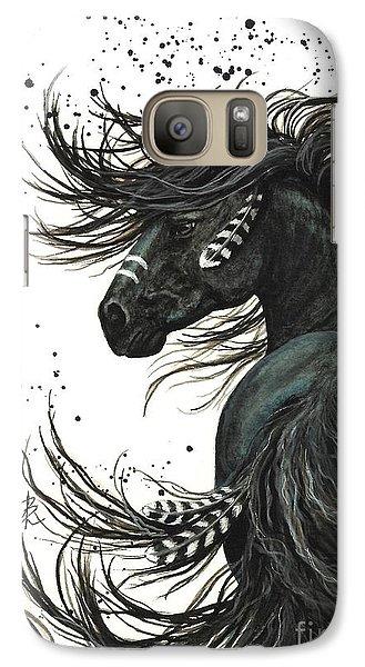 Portraits Galaxy S7 Case - Majestic Spirit Horse  by AmyLyn Bihrle