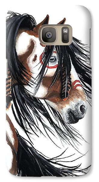 Horse Galaxy S7 Case - Majestic Pinto Horse by AmyLyn Bihrle