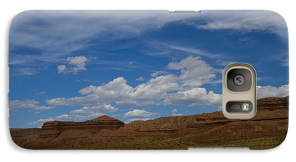 Galaxy Case featuring the photograph Majestic Skies by Tom Kelly