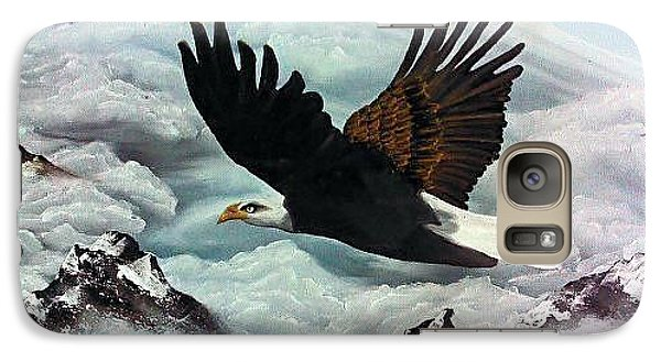 Galaxy Case featuring the painting Majestic Splendor by Dianna Lewis
