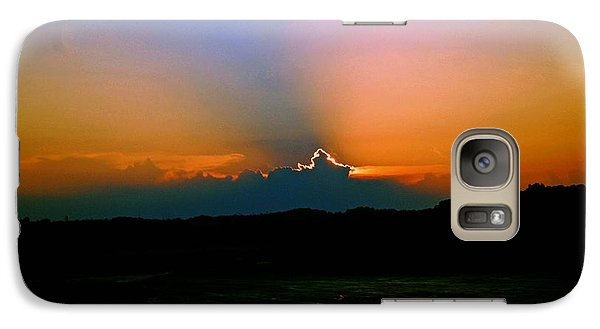 Galaxy Case featuring the photograph Majestic Sunset by Gary Wonning