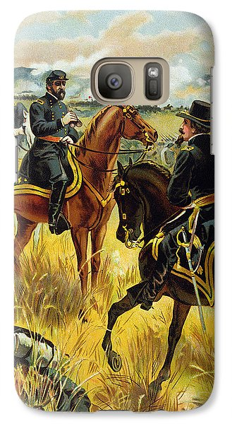 Major General George Meade At The Battle Of Gettysburg Galaxy S7 Case