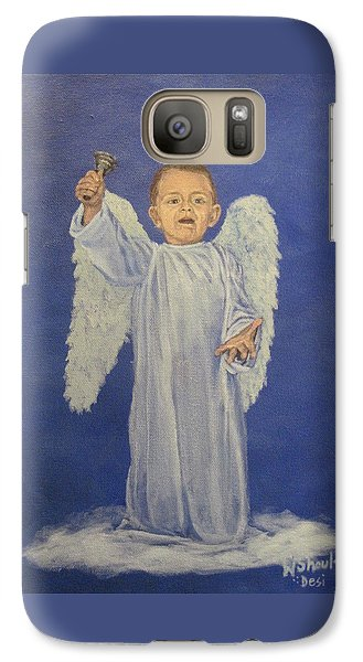 Galaxy Case featuring the painting Make A Joyful Noise by Wendy Shoults
