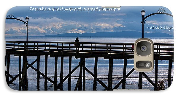Galaxy Case featuring the photograph Make A Small Moment A Great Moment by Jordan Blackstone