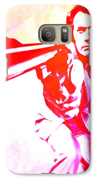 Galaxy Case featuring the painting Make My Day by Brian Reaves