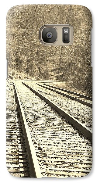 Galaxy Case featuring the pyrography Making The Grade by B Wayne Mullins
