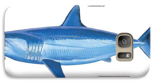 Mako Shark Galaxy S7 Case by Carey Chen
