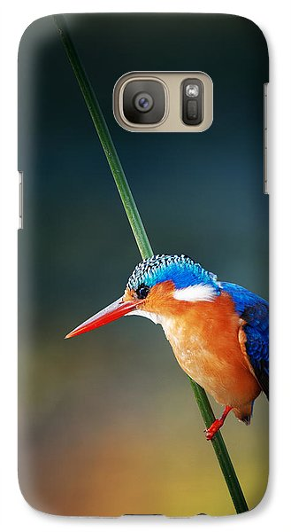 Malachite Kingfisher Galaxy S7 Case