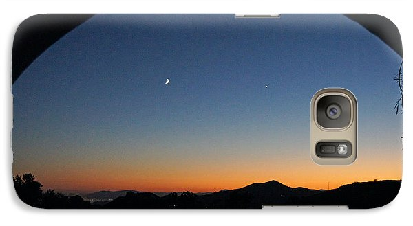 Galaxy Case featuring the photograph Malaga Sunset by Rod Jones