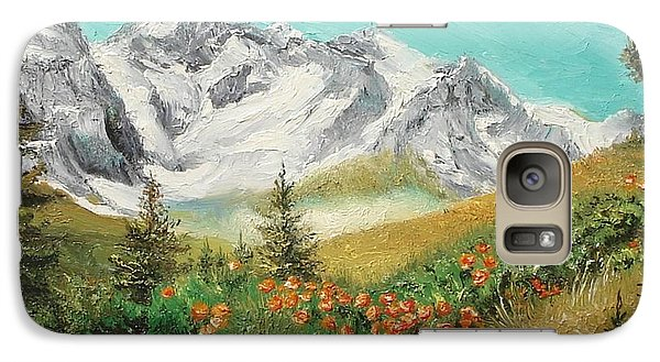Galaxy Case featuring the painting Malaiesti by Sorin Apostolescu
