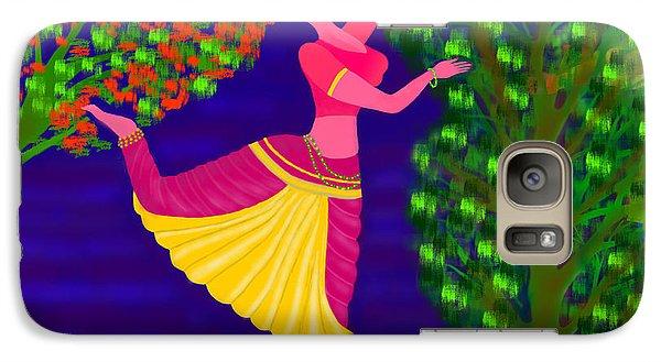 Galaxy Case featuring the digital art Malavika's Magical Touch by Latha Gokuldas Panicker