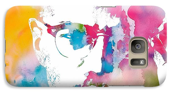 Malcolm X Watercolor Galaxy S7 Case