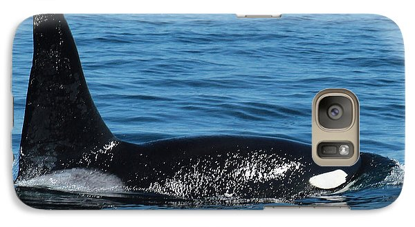 Galaxy Case featuring the photograph Lonesome George Ca165  Male Orca Killer Whale In Monterey Bay California 2013 by California Views Mr Pat Hathaway Archives