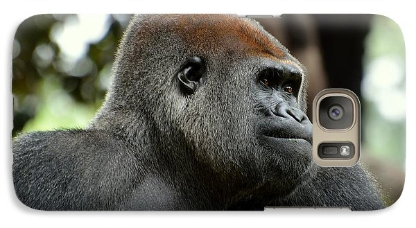 Galaxy Case featuring the photograph Male Silverback by Lisa L Silva