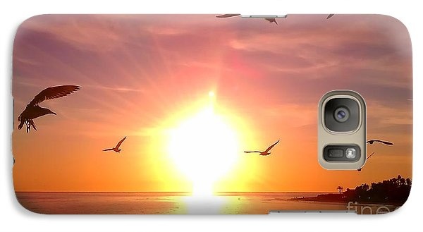 Galaxy Case featuring the photograph Malibu Paradise by Chris Tarpening