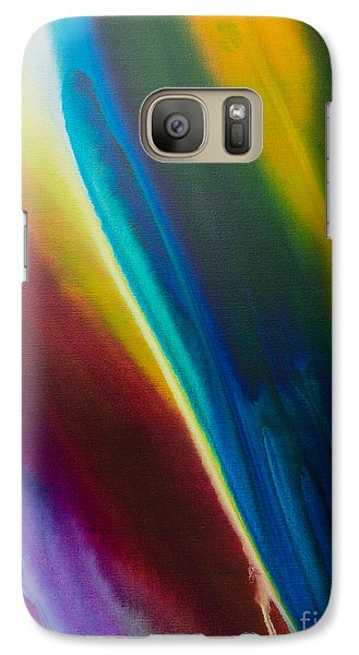 Galaxy Case featuring the painting Malibu by Sherry Davis