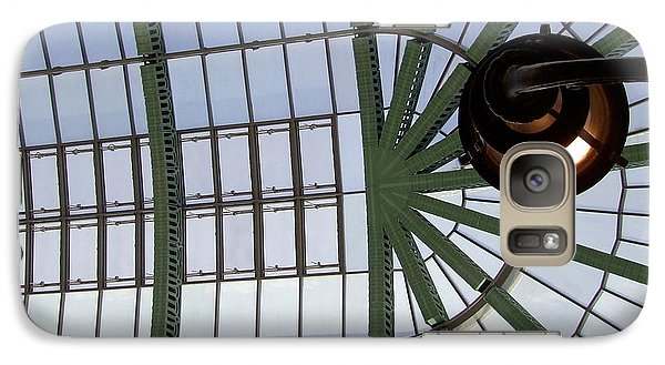 Galaxy Case featuring the photograph Mall Of Emirates Skylight by Andrea Anderegg