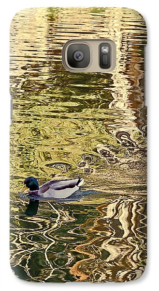 Galaxy Case featuring the photograph Mallard Painting by Kate Brown