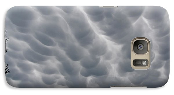 Galaxy Case featuring the photograph Mammatus Clouds Over Yorkton by Ryan Crouse