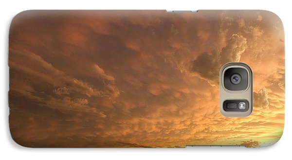 Galaxy Case featuring the photograph Mammatus Clouds by Rob Graham