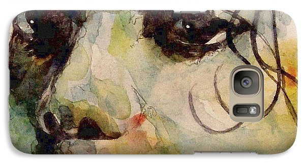 Man In The Mirror Galaxy S7 Case by Paul Lovering