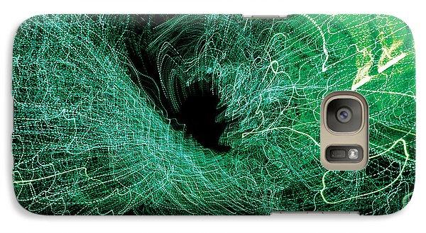 Galaxy Case featuring the digital art Man Move 0058 by David Davies