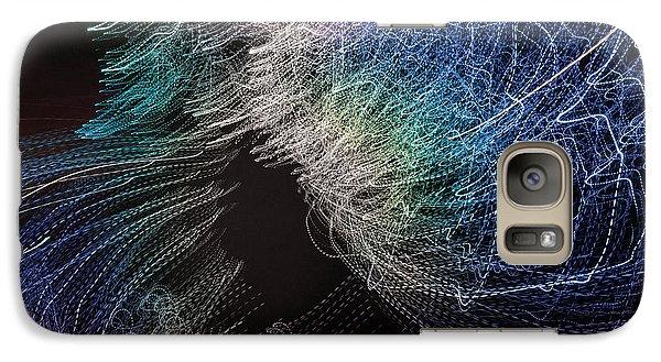 Galaxy Case featuring the digital art Man Move 0062 by David Davies