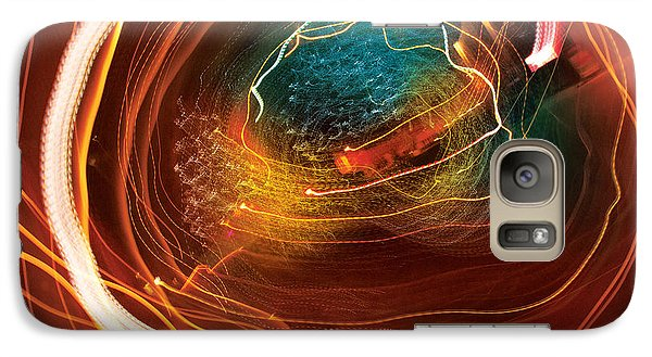 Galaxy Case featuring the digital art Man Move 0069 by David Davies