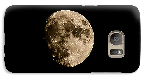 Galaxy Case featuring the photograph Man On The Moon by Michael Canning