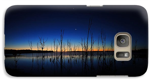 Galaxy Case featuring the photograph Manasquan Reservoir At Dawn by Raymond Salani III