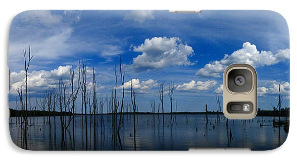 Galaxy Case featuring the photograph Manasquan Reservoir Panorama by Raymond Salani III