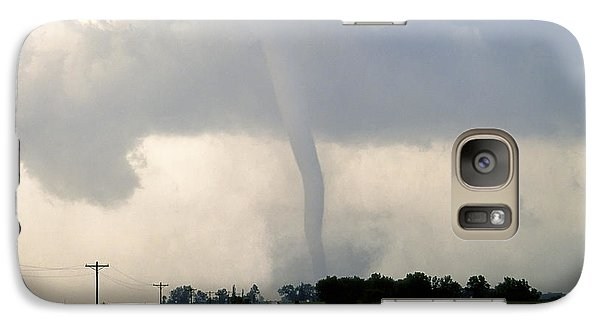 Galaxy Case featuring the photograph Manchester Tornado 1 Of 6 by Jason Politte