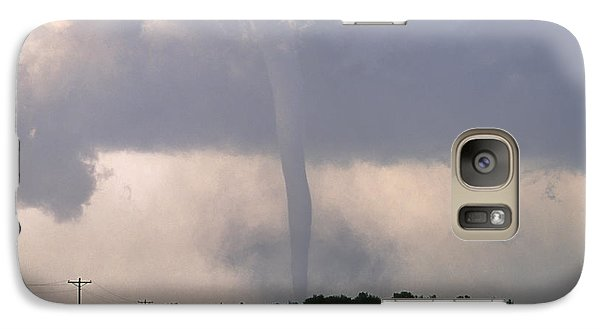 Galaxy Case featuring the photograph Manchester Tornado 2 Of 6 by Jason Politte