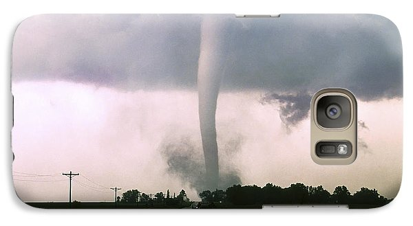 Galaxy Case featuring the photograph Manchester Tornado 4 Of 6 by Jason Politte