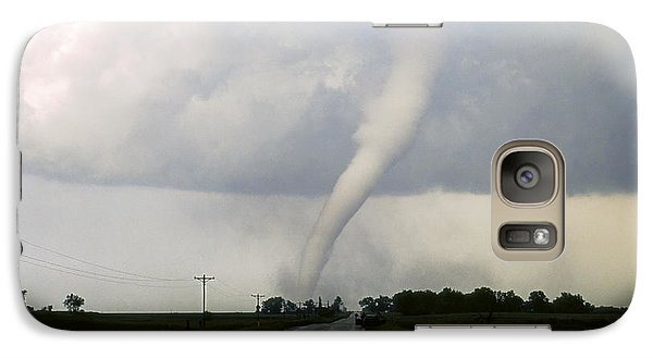 Galaxy Case featuring the photograph Manchester Tornado 6 Of 6 by Jason Politte