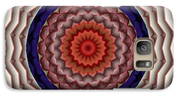 Galaxy Case featuring the digital art Mandala 10 by Terry Reynoldson