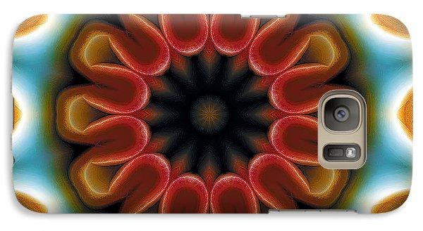 Galaxy Case featuring the digital art Mandala 100 by Terry Reynoldson