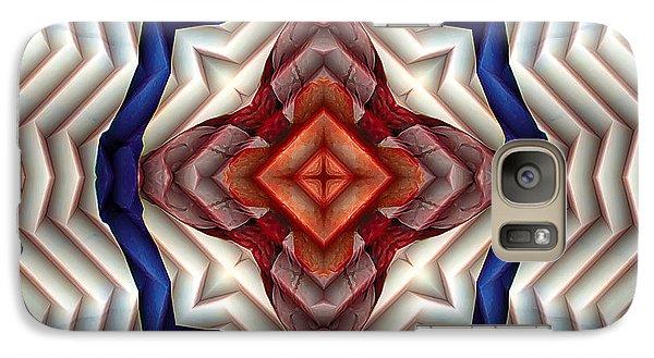 Galaxy Case featuring the digital art Mandala 11 by Terry Reynoldson