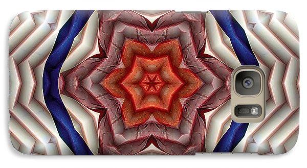 Galaxy Case featuring the digital art Mandala 12 by Terry Reynoldson