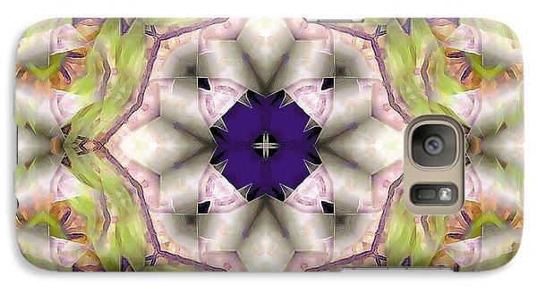Galaxy Case featuring the digital art Mandala 127 by Terry Reynoldson