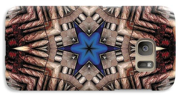 Galaxy Case featuring the digital art Mandala 13 by Terry Reynoldson