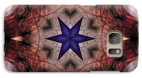 Galaxy Case featuring the digital art Mandala 14 by Terry Reynoldson