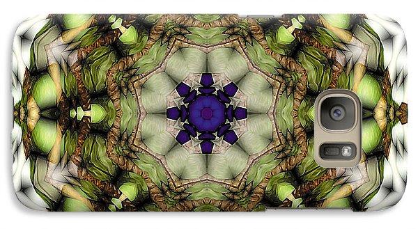 Galaxy Case featuring the digital art Mandala 21 by Terry Reynoldson
